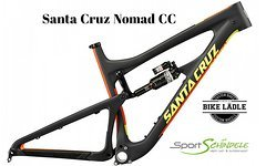 Santa Cruz Nomad CC Rahmen inkl Dämpfer Modell 2017