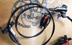 Shimano Deore M615 Scheibenbremse 180/180 fast neu