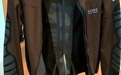 Gore Bike Wear Fusion AS Cross Jacke, Braun, Grösse XXL, TOP