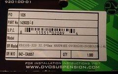 """DVO Dämpfer Buchsen 32.0 """" 8mm Jade / Topas"""