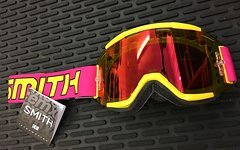 Smith Optics Squad MTB Goggle Archive 1991 neon red mirror -NEU!-