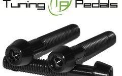Tuning Pedals Titan Schraube M6 x 10 / 12 /14 / 16 / 18 / 20 / 25 / 30 / 35 / 40 / 45 / 50 / 55 mm, Grade 5, DIN 912 konisch - schwarz