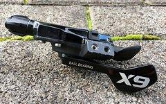 SRAM X9 10x Trigger 10fach Schwarz Schalthebel