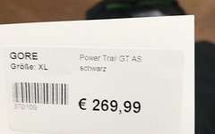Gore Bike Wear Power Trail GTX AS Jacke Black Gr. XL