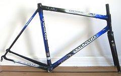 Colnago C40, C 40 blau (AD-10), 54,5 cm + Star Fork (Gabel)