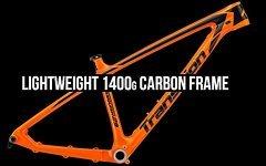 Transition Bikes Vanquish 29 Carbon Rahmen, orange, Gr. L