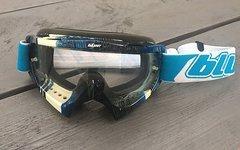 O'Neal Oneal Blur B-Flex Goggle klar (weiß/blau)