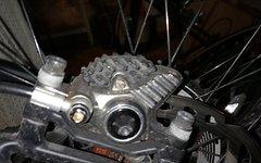 Shimano XTR BR-M9020 Scheibenbremse komplett mit Scheiben