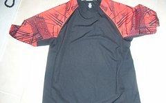 Specialized 3/4 Arm Jersey/Trikot rot/schwarz, Größe L
