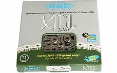 KMC 11 fach KMC X11SL Kette für Shimano/ Campagnolo silber.