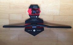 Levelnine Team AM 31.8 50mm Vorbau + Pro Team Carbon 31.8 20 mm Riser Lenker