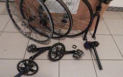 Gt Felt BMX Teile Mini / Micro Gabel Laufräder lenker Vorbau Sattel