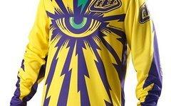 Troy Lee Designs TLD Troy Lee Designs Cyclops Yellow Purple Größe L NEU mit Etikett OVP