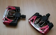 Crankbrothers Mallet 3 Pedale - Rot Schwarz