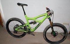Ibis Cycles Mojo HD3 grün