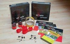 """DT Swiss 2x 26"""" Tubeless Kit für XR 4.1 und XR 4.2 Felgen"""