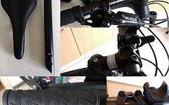 Ghost Lenker 35mm 740 Vorbau 35mm 70mm Griffe Sattel