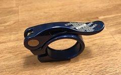 Sixpack Sattelklemme Menace 34.9mm Blau