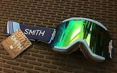 Smith Optics Squad MTB Goggle Linear green mirror -NEU!-