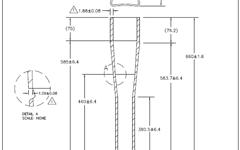 Easton RAD Rohre Für Rahmenbau Vierkant auf Rund
