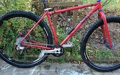 Surly Karate Monkey 2008 Gr. M rot
