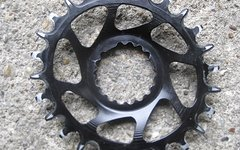 Garbaruk Cannondale Direct Mount Kettenblatt oval für SI, SISL, SISL2, 26 Zähne wie Absolute Black