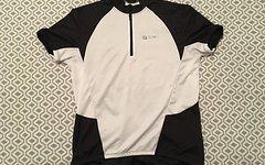 Gonso Radshirt Radtrikot schwarz weiß Gr. L Shirt kurzarm TOP WOW Bikeshirt Shirt Bike