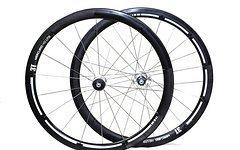 """3T Laufradsatz 3T Mercurio 40 LTD Italian Style 28"""" Carbon Rennrad Fixie Triathlon"""