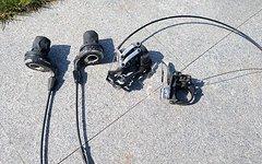 SRAM X0 GripShift 9-fach 3x9 Shimano XT Schaltwerk Set