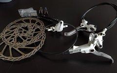 Avid Elixir 5 weiß VR 203mm +HR 185mm Set