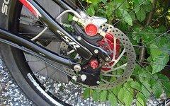 Rohloff 26 Zoll MTB Laufradsatz mit Rohloff Speedhub 500/14 mit 203er Bremsscheibe