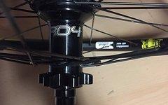 Spank Spike 28 TEAM Laufradsatz mit Hope Pro 4 Evo Naben