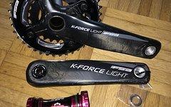 FSA K-Force Light MegaExo Carbon Kurbel 2-fach neu