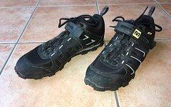 Mavic Crossride MTB SPD-Schuhe, EUR Gr. 47 1/3, schwarz