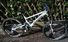 Morewood, Spank, Hope Etc. Morewood Makulu Custom Race Bike Gr. L