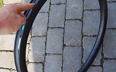 """Nextie Carbon Felge 26"""" DH 40mm"""