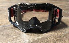 Oakley Airbrake MX Brille Goggle mit Zubehör