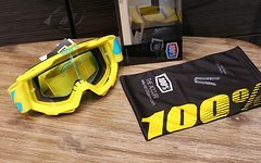 100% Accuri Goggle Yellow/Blue *NEU*