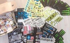 Sticker, Downhill/mountainbike/motorrad - Aufkleber Aus Sticker-Sammlung gemischte Stickertüten auf Anfrage!