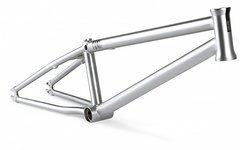 Dartmoor Yuki v.2 BMX Rahmen brushing chrome Street/Park