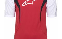 Alpinestars Drop Short Sleeve Jersey True Red White XXL