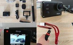Gitup Action Cam Gitup Git 2 Pro 2K WiFi Action Camera 1440P LCD