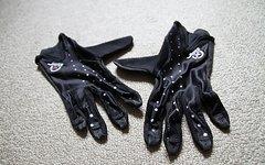 Jett glove NEU mit Etikett MTB Downhill Freeride Bike Progressive Handschuhe, schwarz/weiß in der Größe L