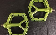 Race Face Atlas Plattform/Flatpedale in green