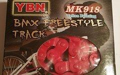 Yaban Singlespeed Kette MK918 1/2*1/8 Rot 102L