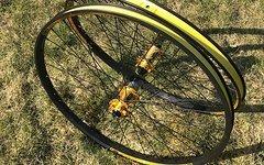 NS Bikes 650B Laufradsatz gold 135x12 / 20mm