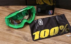 100% Accuri Goggle Green *NEU*
