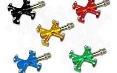 Fbp Parts bunte eloxierte CNC Pedale MTB Freeride BMX Fixie
