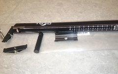 Totia Sattelstütze 27,2 x 350mm ähnl. KCNC Ti Pro Lite