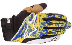 Alpinestars Gravity Gloves Electric blue/ Yellow XXS